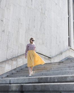 žltá sukňa nosimumenie