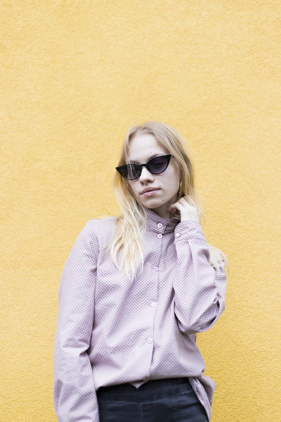 ružová košeľa nosimumenie