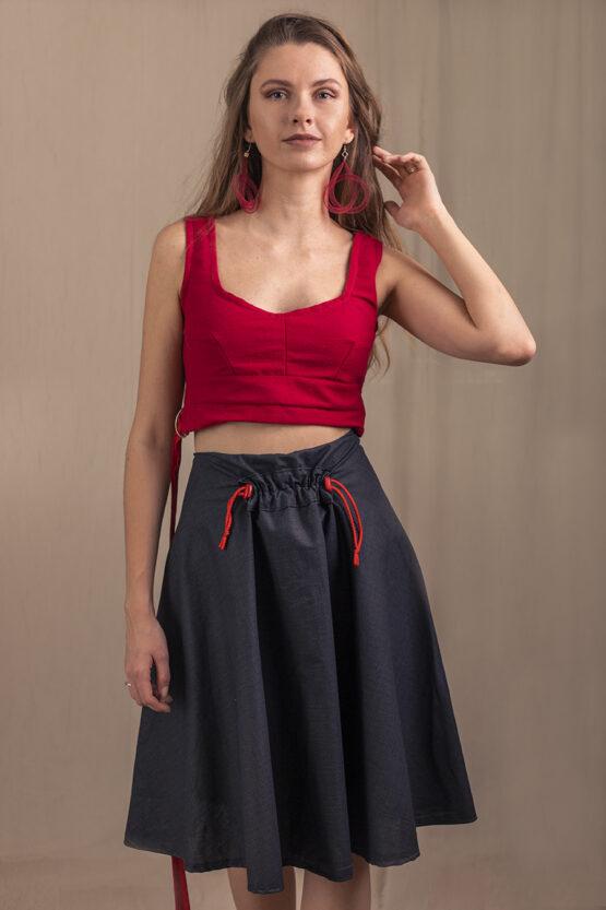 čierna sukňa nosimumenie